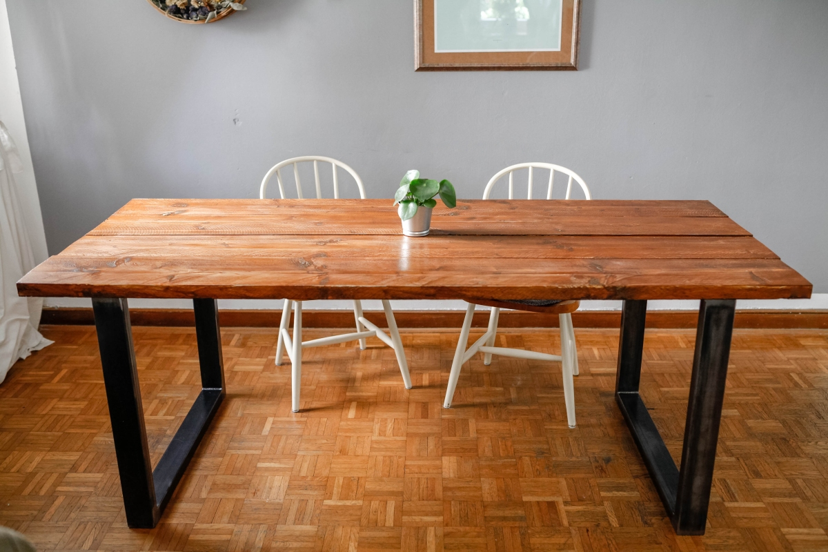 diy tisch bauen gemacht wie gedacht. Black Bedroom Furniture Sets. Home Design Ideas